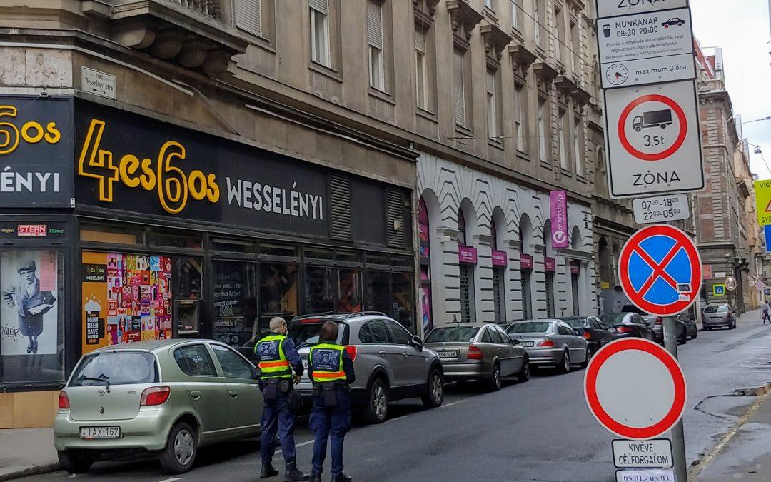 Forgalomcsillapításos teszt hétvége indul Belső-Erzsébetvárosban!