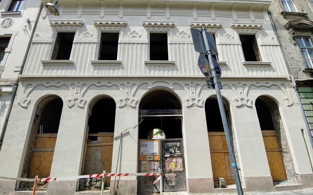 Felpörgött a Dob utca 18 felújítása!