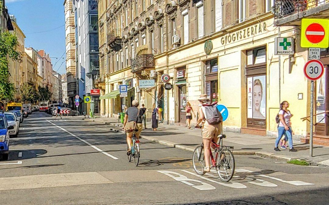 A Wesselényi utca lett a kerékpárosok Rákóczi útja! (legalábbis a Kiskörút irányába)…