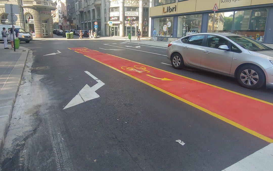 Hoppá! Újra járható a Síp utca Dohány utca és Rákóczi út közötti szakasza…