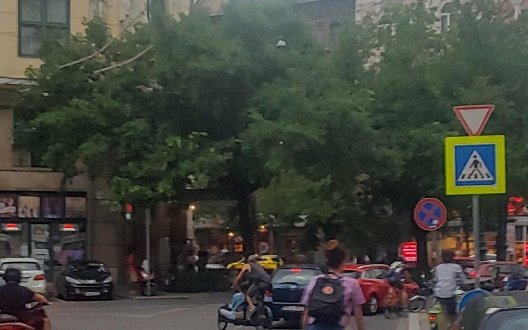 Láthatóan a két kerékkel közlekedők kedvencévé válik a forgalomcsillapított Wesselén…