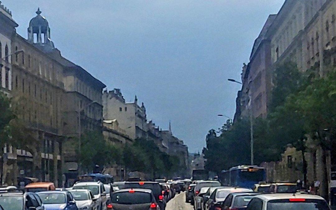 Az eddig Belső-Erzsébetváros utcáit évek óta terhelő átmenő forgalom jelentős része …