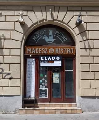 Nem olyan rég még jókat ettünk itt, most viszont búcsút vehetünk a Macesz Bisztr
